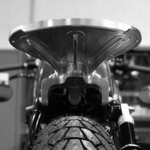 Asiento Bobber Motor Machining Parts