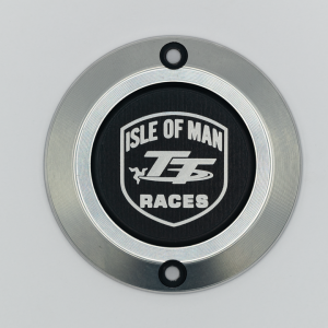 Left engine cover Triumph Isle of Man 3