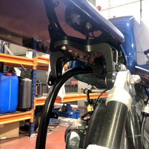 Plug & Play subframe coupling for BMW R65 Monolever